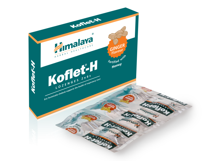 KOFLET H Ginger flavour Fortified with Honey