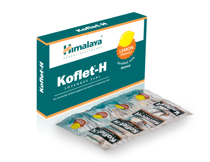 KOFLET H Lemon flavour Fortified with Honey