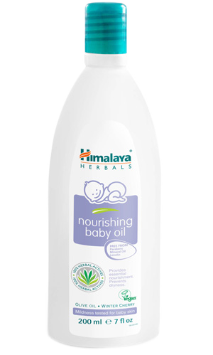 Nourishing baby oil 200 ml