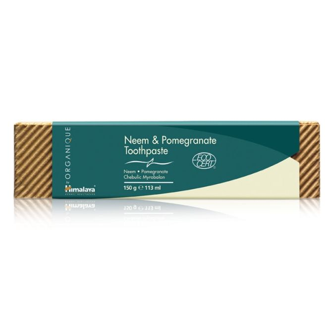 Organique Neem & Pomegranate Toothpaste 150 g