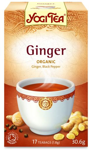 Organic Yogi Tea Ginger