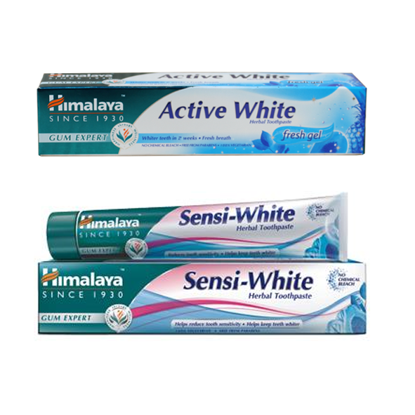Set: Stain Away Toothpaste 75 ml + Sensi-White Toothpaste 75 ml