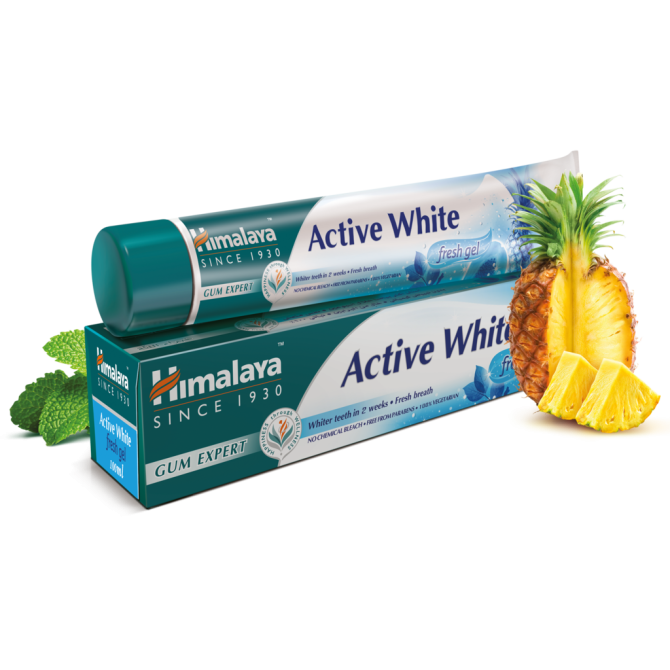 Active White Herbal Toothpaste Fresh Gel