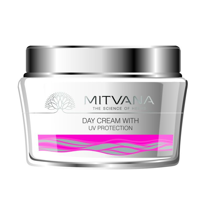 Mitvana Day Cream with UV protection SPF 15 - 50 g