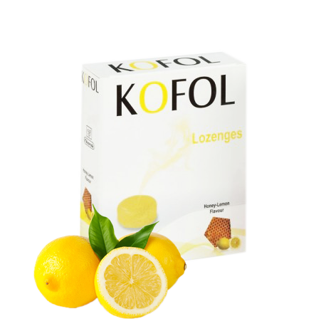 Kofol Lozenges Honey& Lemon 12 lozenges