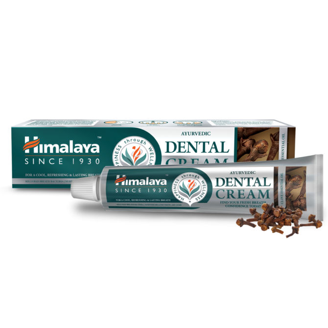 Ayurvedic Dental Cream with CLOVE esselntial oil, fluoride free, 100 g