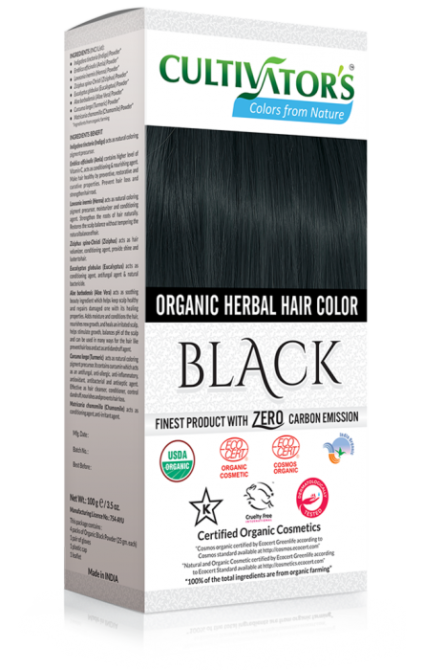 Organic Herbal Hair Color, Chestnut