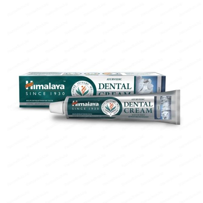 Ayurvedic Dental Cream with Salt